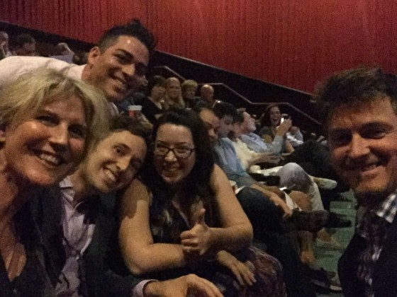 crew at SFF screening